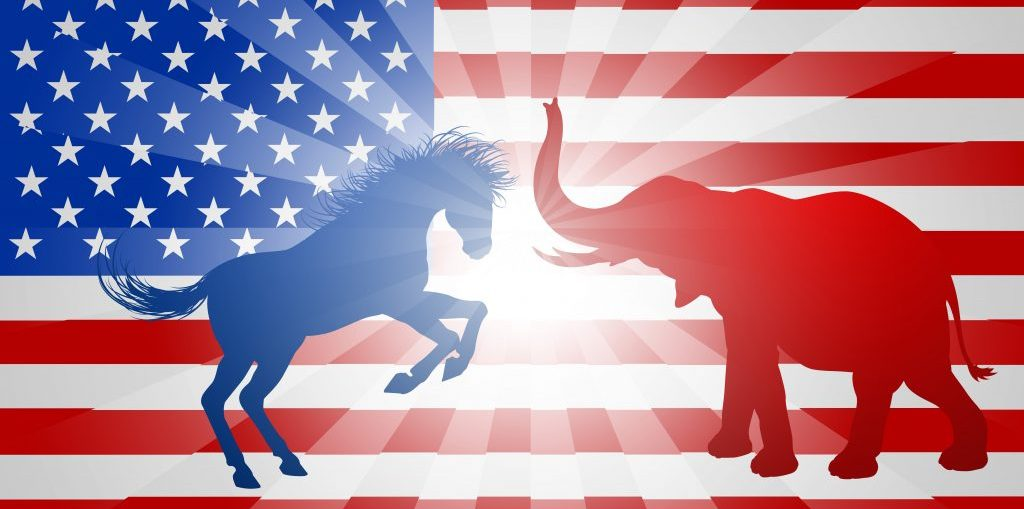 Political Symbols Of The Us Two Party System The New York Experience